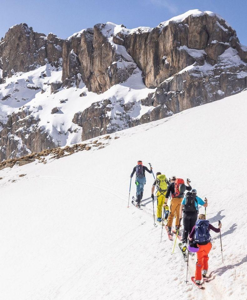 SÉJOUR TOP BASE CAMP FREERANDO SKI SPLITBOARD PULKA MILLET MOUNTAIN