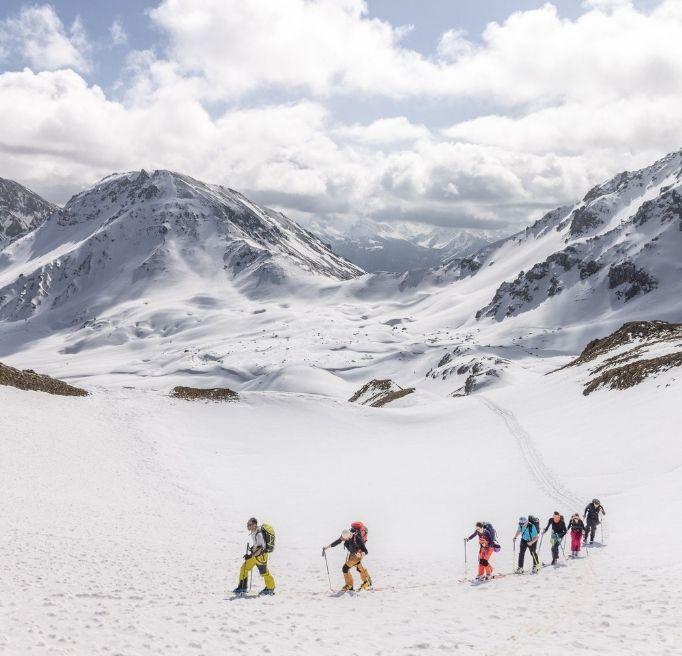 PROGRAMME DU SÉJOUR BASE CAMP FREERANDO SKI SPLITBOARD PULKA MILLET MOUNTAIN