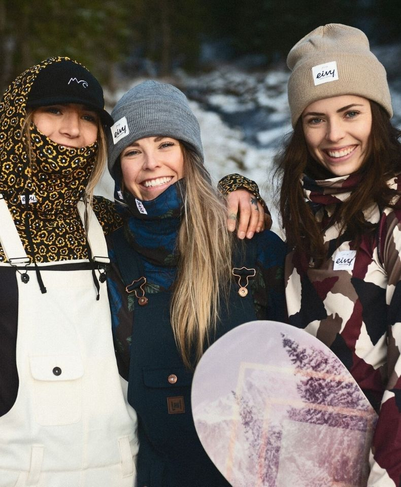TOP SÉJOUR FREERIDE RAQUETTES BACKCOUNTRY GIRLS CAMP EIVY CHAMONIX