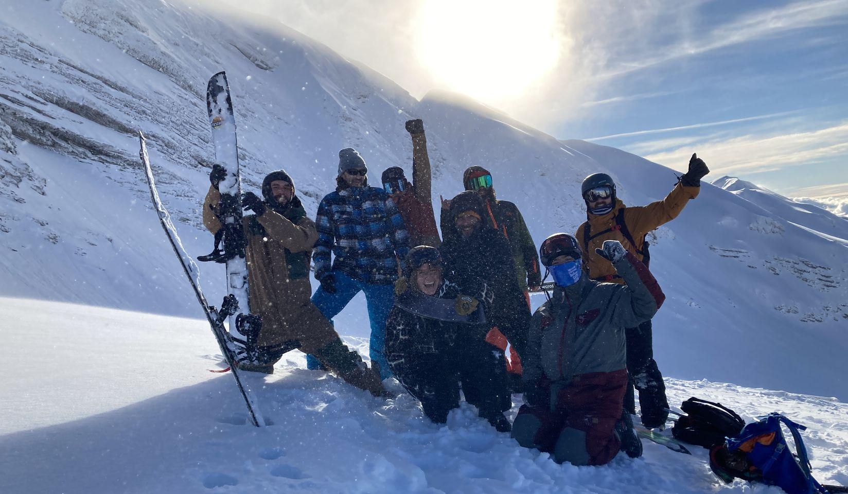 BURTON snowboard Avoriaz équipe splitboard