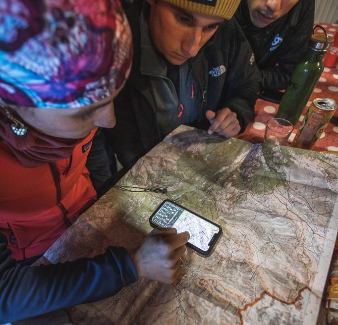 Carte prépa sortie alpinisme