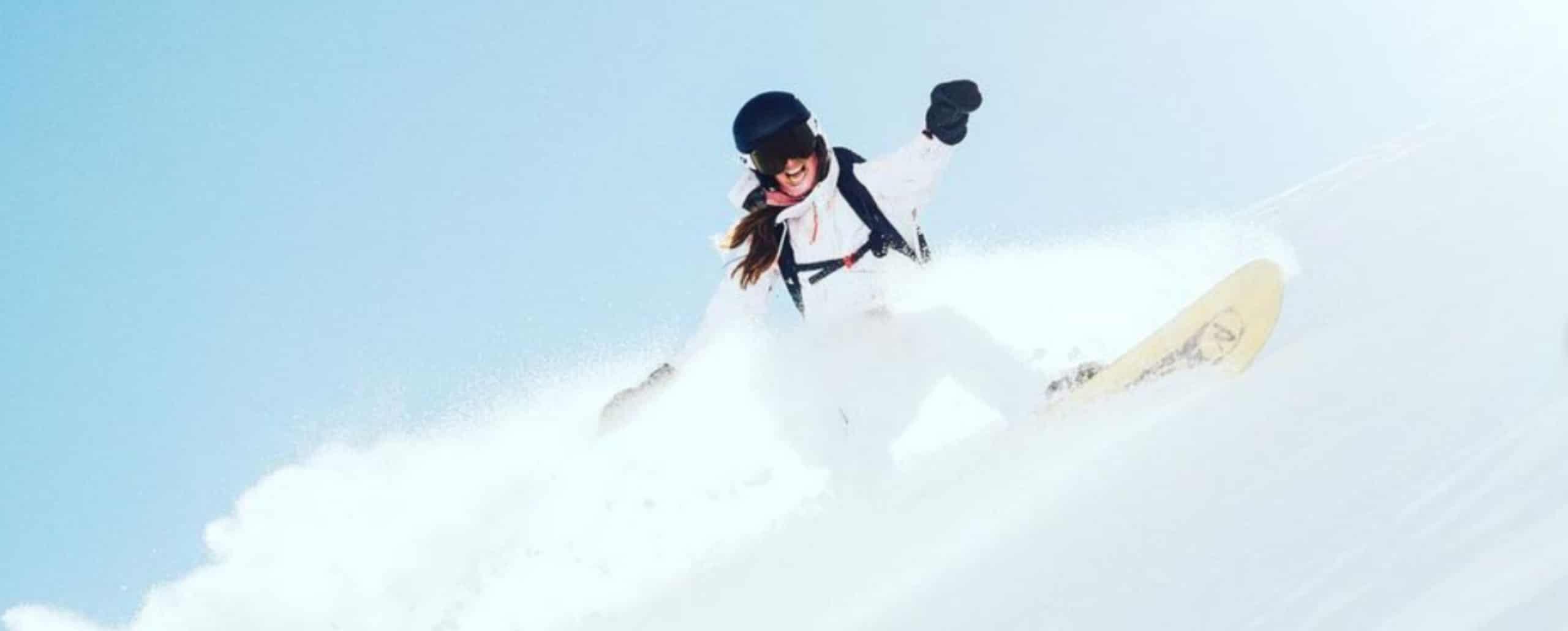 AMBAMBASSADEUR COVER PAULINE LE ROUX EIVY GIRLS CAMP SNOWBOARD