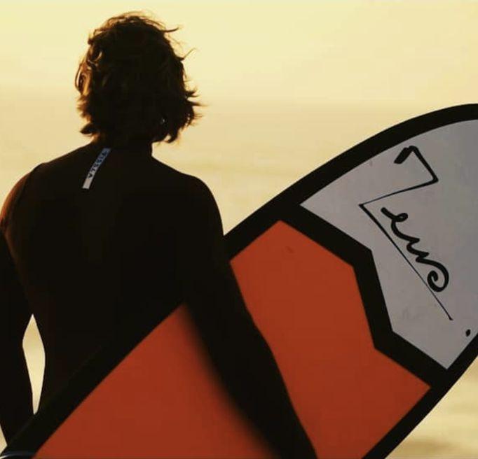 Zeus surf board