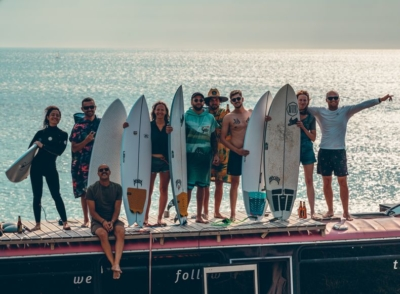 Vignette Surf Bus trip