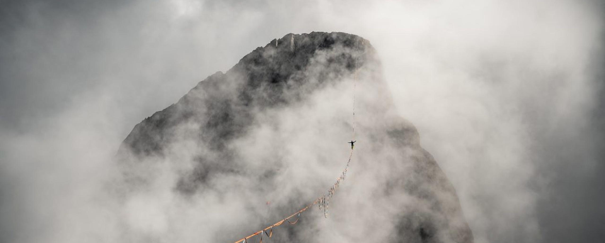 Antoine Mesnage Esprit outdoor Highline