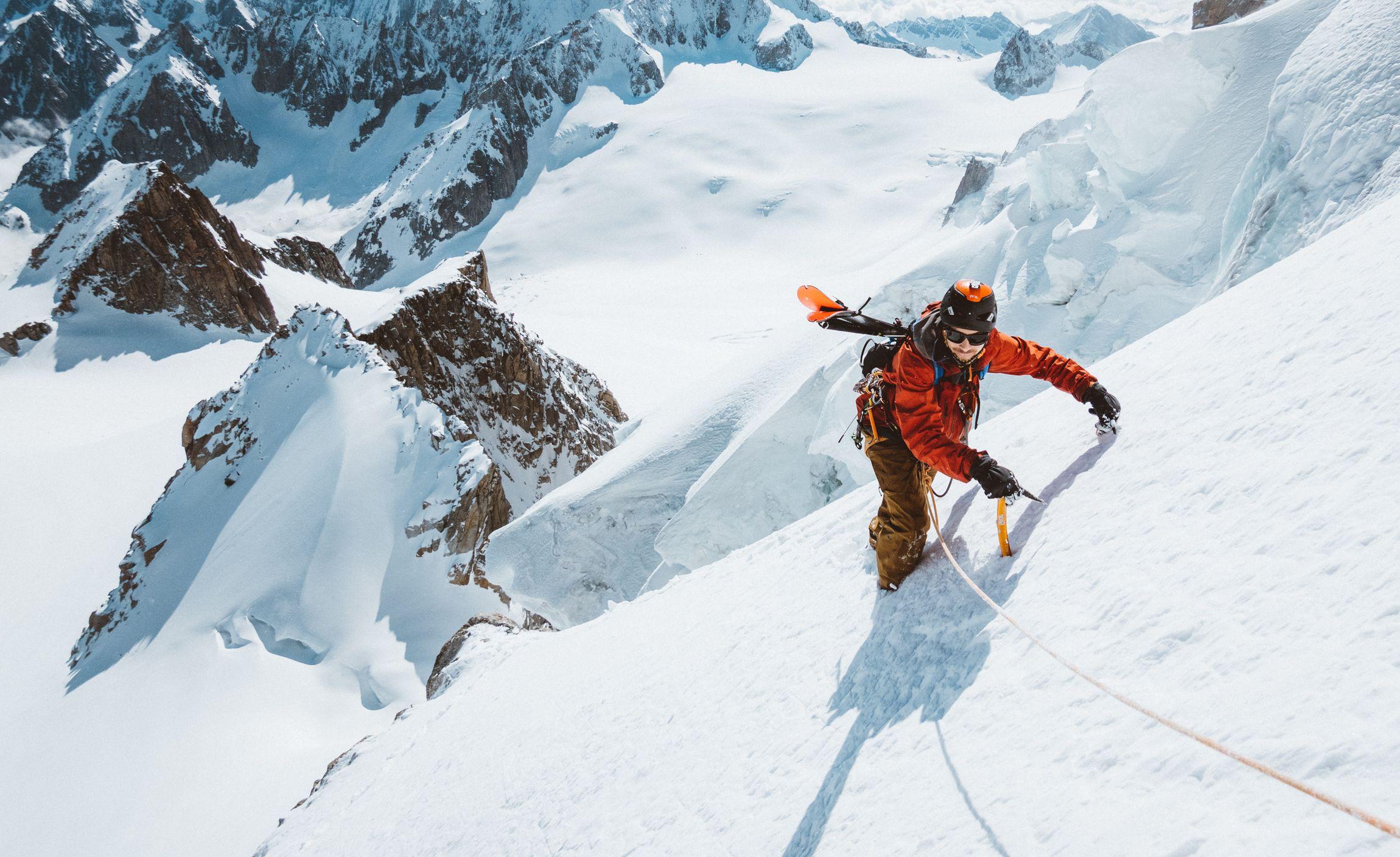 Vivian Bruchez Scarpa ski pente raide Chamonix Mathis dumas