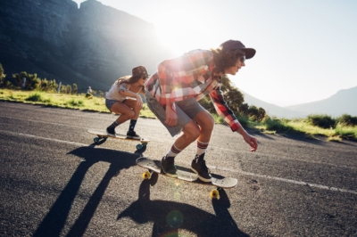 Skate Longboard Downhill Girls