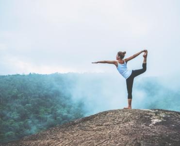 Bien être Yoga Fille