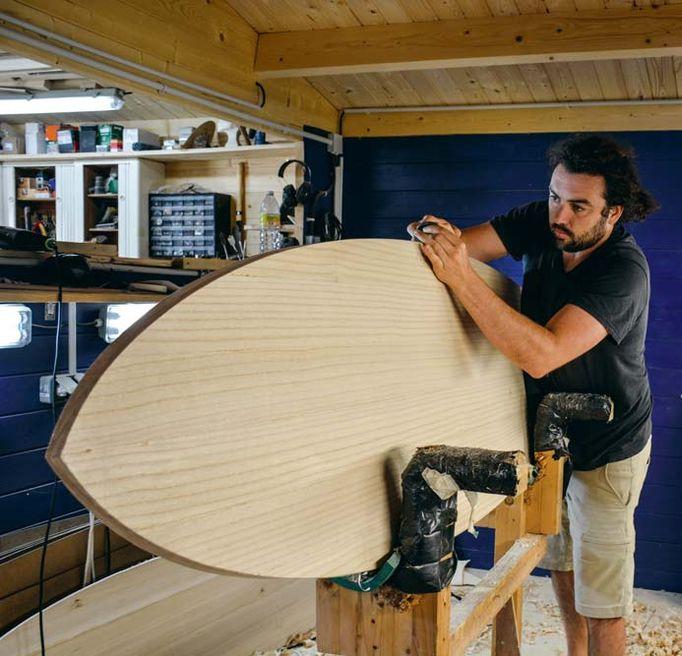 Village Combrit Shaper surf