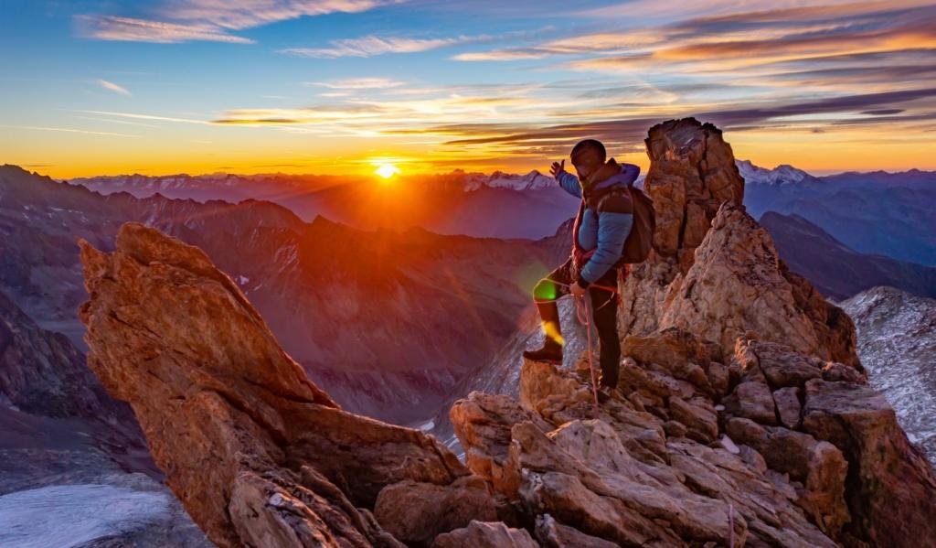 Alpiniste sylvain mauroux
