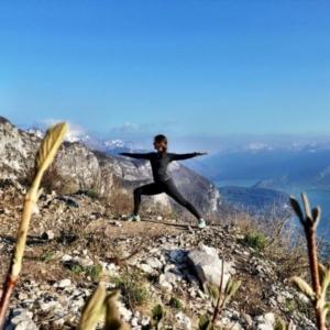AMBASSADEUR Candice Baroux Professeur Yoga Biscarrosse