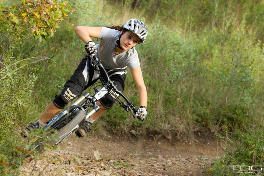 Ambassadeur page athlète Morgane SUCH VTT Vélo Bike Enduro