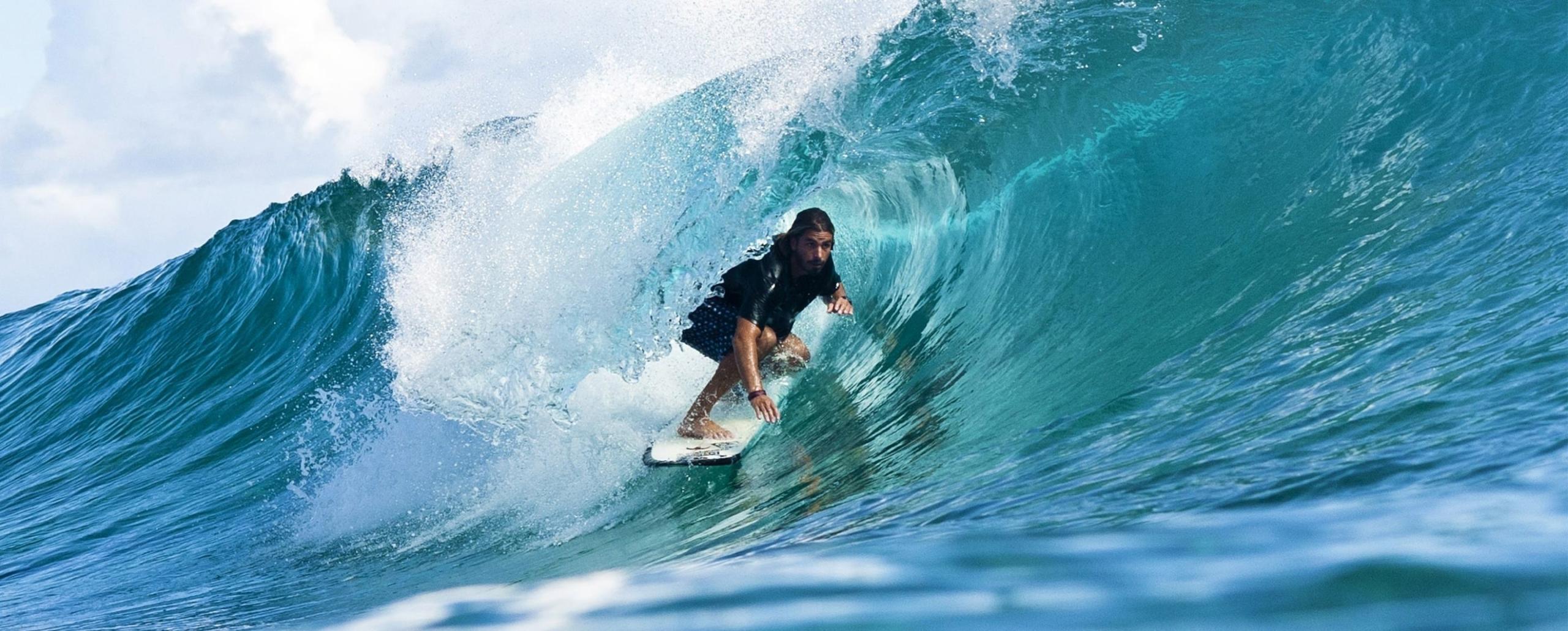 AMBASSADEUR COVER Picture Damien Castera athlète surf