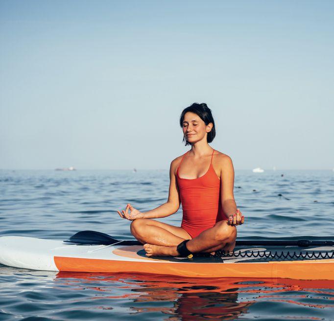 Yoga paddle Programme