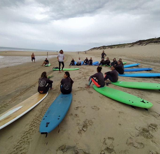 Maison Bisca Vélo Biscarrosse Surf Yoga Programme