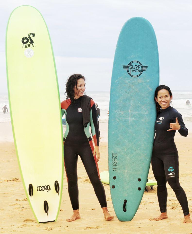 Maison Bisca Biscarrosse Surf Yoga Top