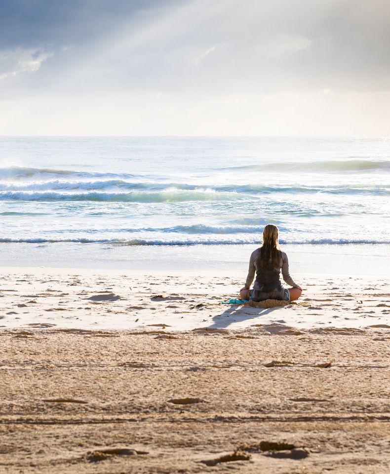 Yoga plage simon-rae Top