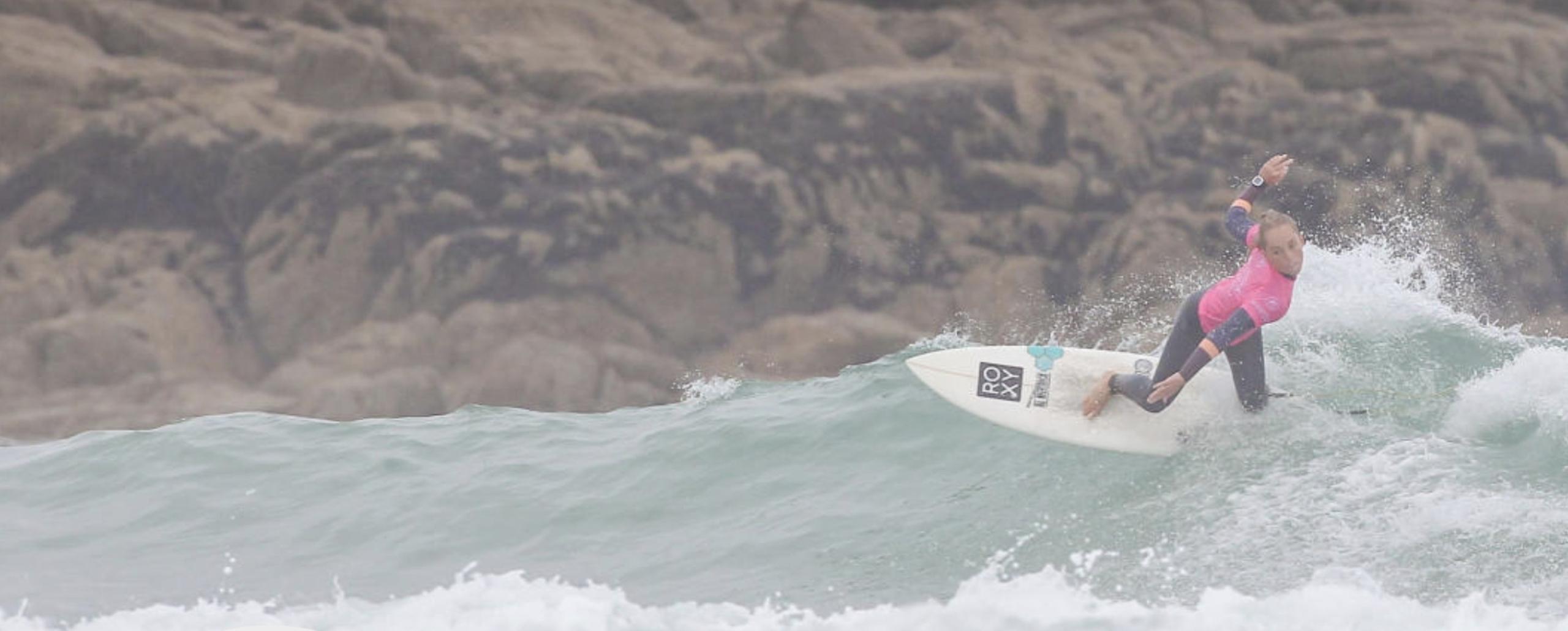 Athlète Cover uxue dominguez Surf Roxy