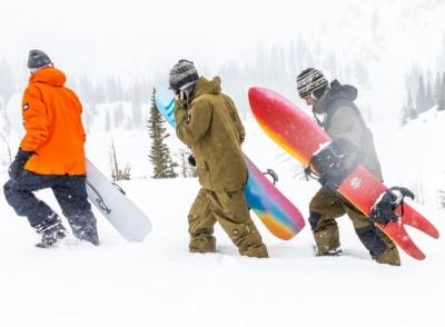 Vignette Nitro snowboard